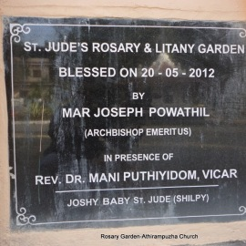 St. Jude's Rosary and Litany Garden